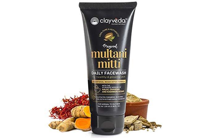 Clayveda Multani Mitti Daily Face Wash