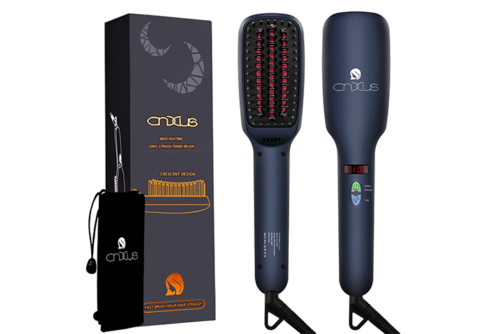 CnxusHair Straightener Brush