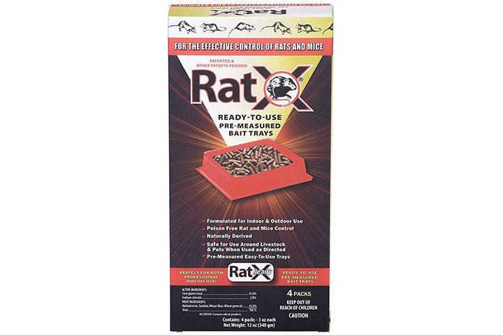 EcoClear Products RatX Ready-To-Use Bait Trays
