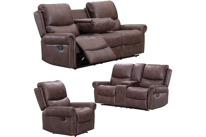 FDW Store Recliner Sofa Set
