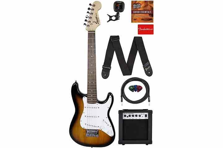 Fender Squier ¾ Size Kids Mini Start Electric Guitar
