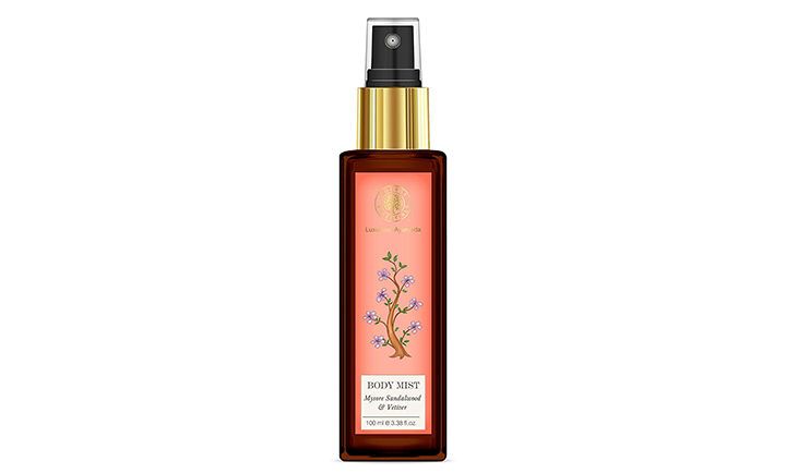 Forest Essentials Sandalwood and Vetiver Body Mist