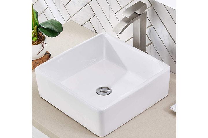 Friho Above Counter Square Vessel Sink