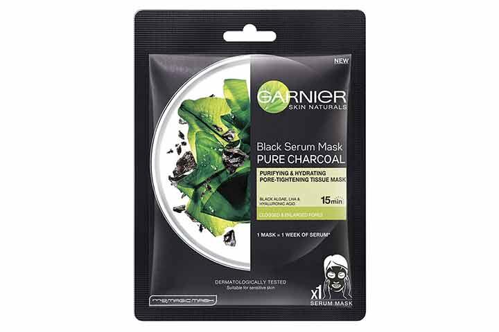 Garnier Skin Naturals Black Serum Mask