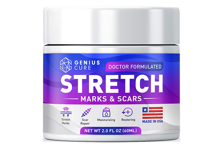 Genius Cure Stretch Mark & Scar Defense Cream
