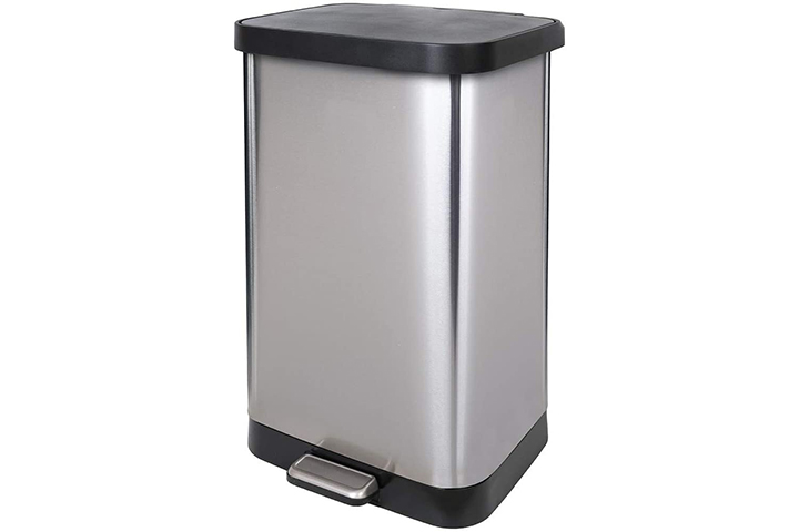 Glad Stainless Steel Trash Can