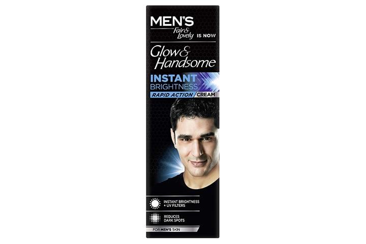 Glow & Handsome Instant Brightness Cream