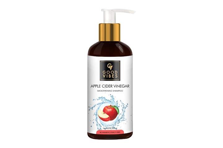 Good Vibes Apple Cider Vinegar Smoothening Shampoo