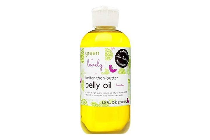 Green + Lovely Better than Butter Pregnancy Belly Oil