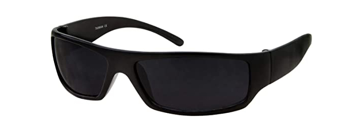 Grinderpunch Mens Black Super Dark Sunglasses