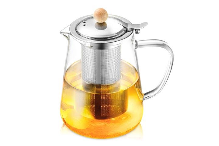 HIHUOS Glass Teapot