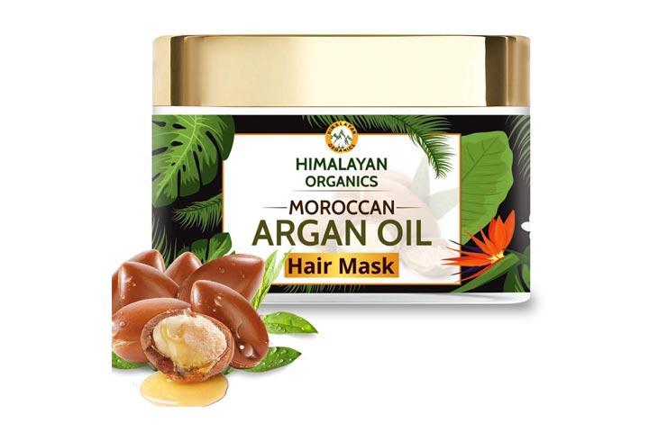 Himalayan Organics Moroccan Argan Oil Hair Mask