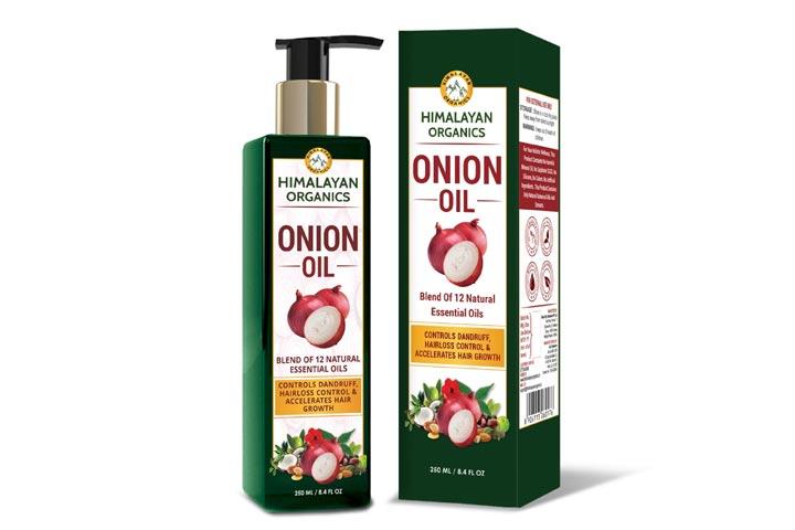 Himalayan Organics Onion Oil