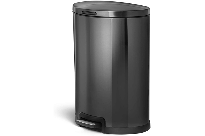 Home Zone Living Kitchen Trash Can
