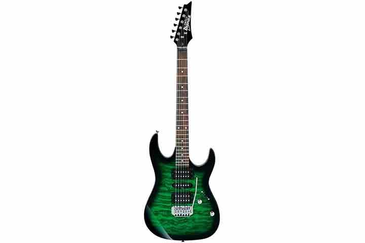 Ibanez 6 String Solid-Body Electric Guitar GRX70QATEB