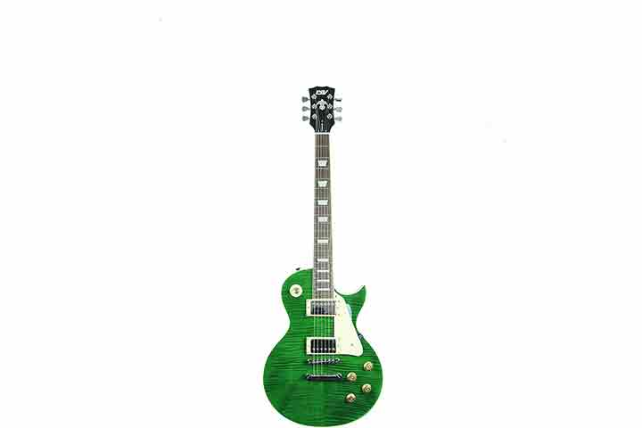 Ivy ILS-300 EGR Les Paul Solid-Body Electric Guitar