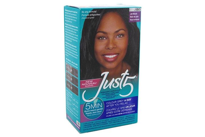 Just 5 Jet Black Hair Color