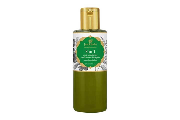 Just Herbs Ayurvedic 8 in 1 Root Nourishing Shampoo