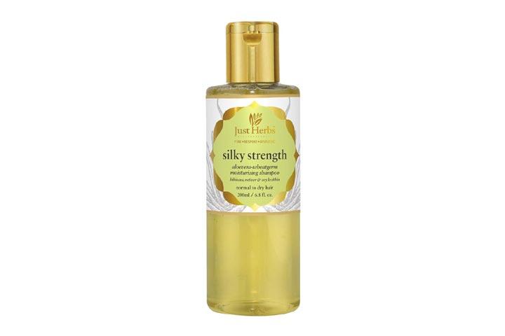 Just Herbs Silky Strength Moisturizing Shampoo