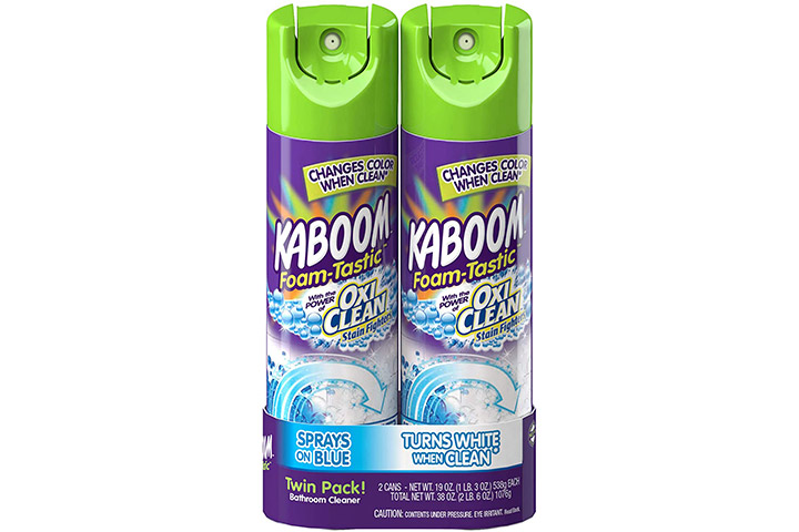 Kaboom Foam-Tastic OxiClean Bathroom Cleaner
