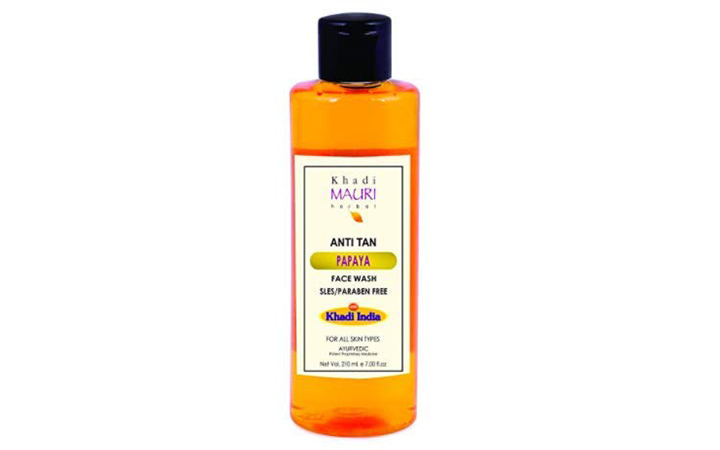 Khadi Mauri Papaya Face Wash