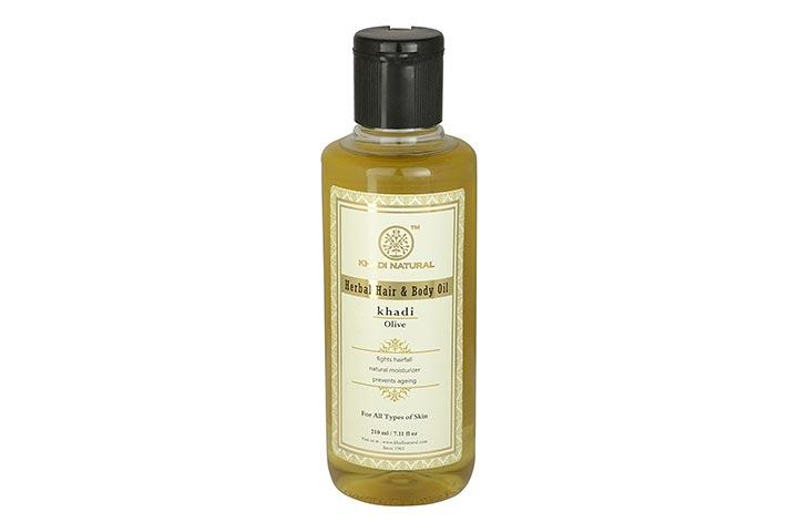 Khadi Natural Herbal Hair Body Olive Oil