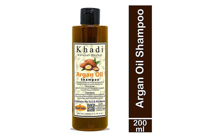 Khadi Natural Herbal Moroccan Argan Hair Shampoo