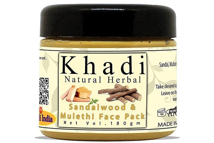 Khadi Natural Herbal Sandalwood And Mulethi Face Pack