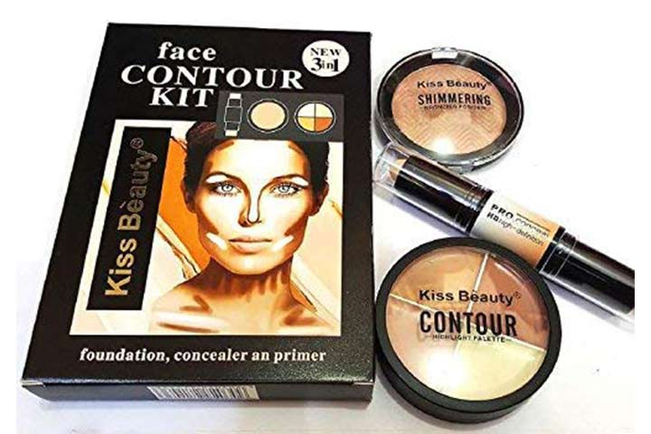 Kiss Beauty Concealer Highlighter & Contour Stick