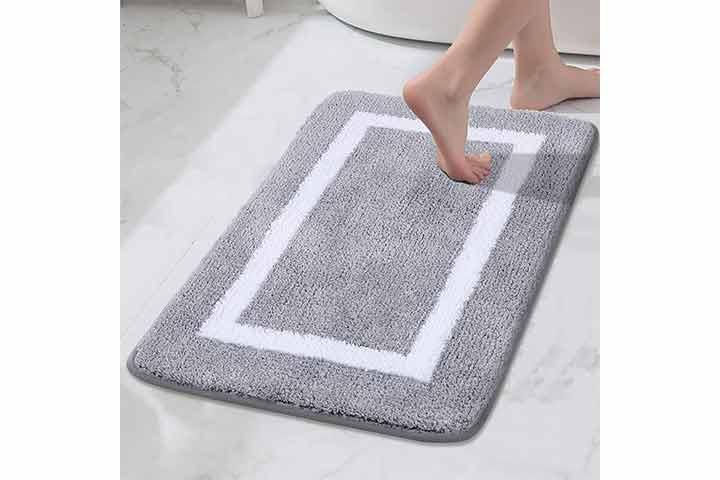 Kitinjoy Bathroom Rug Mat
