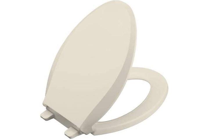 Kohler Cachet Elongated Toilet Seat - Almond
