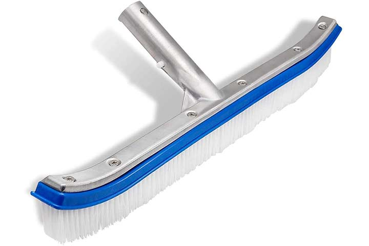 "Lalapool 18"" Aluminum Swimming Pool Cleaning Brush"