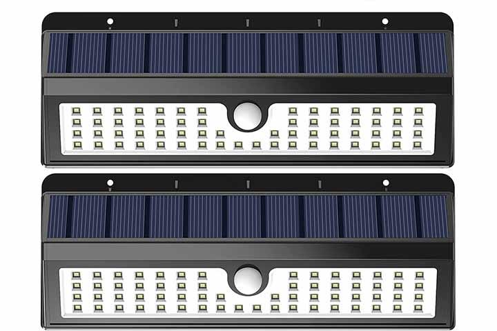 Lemontec Motion Sensor Solar Light