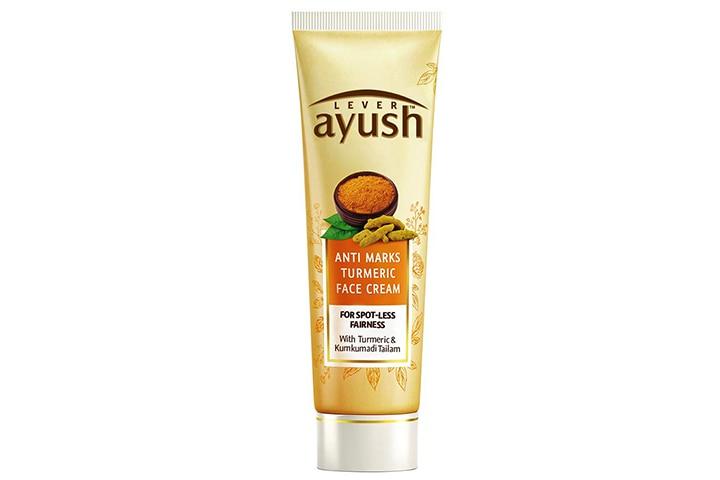 Lever Ayush Anti Marks Turmeric Face Cream