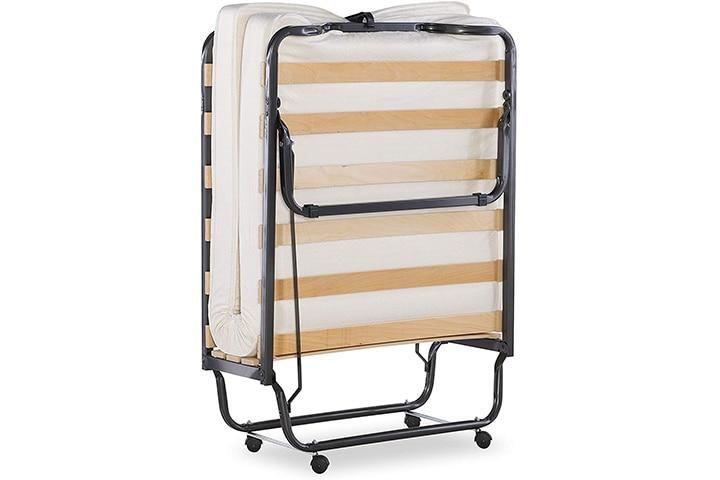 Linon Home Dcor Memory Foam Luxor Folding Bed