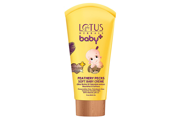 Lotus Herbal Baby+ Feathery Pecks Soft Baby Crème