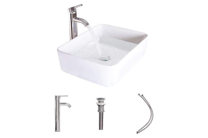 Luckwind Bathroom Vessel Sink