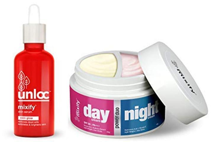 MIXIFY Power Duo Day & Night Cream