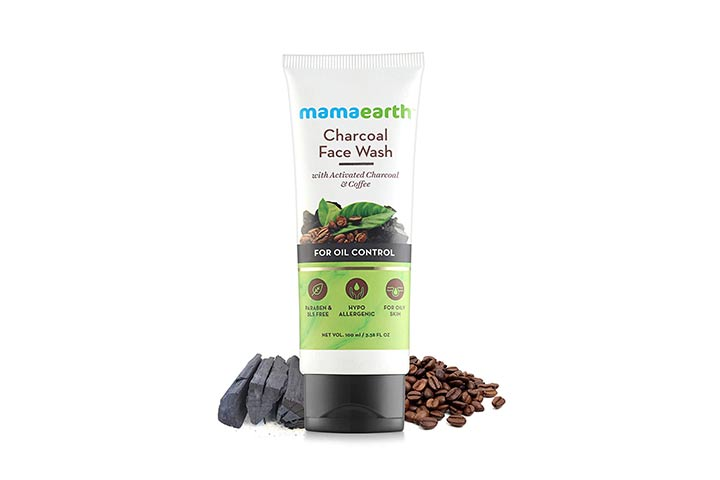 Mamaearth Charcoal Face Wash with Coffee Extracts