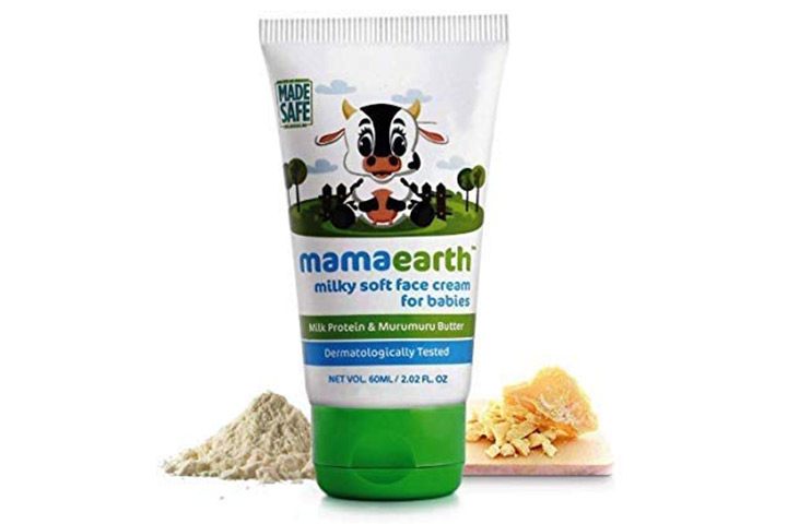 Mamaearth Milky Soft Natural Baby Face Cream