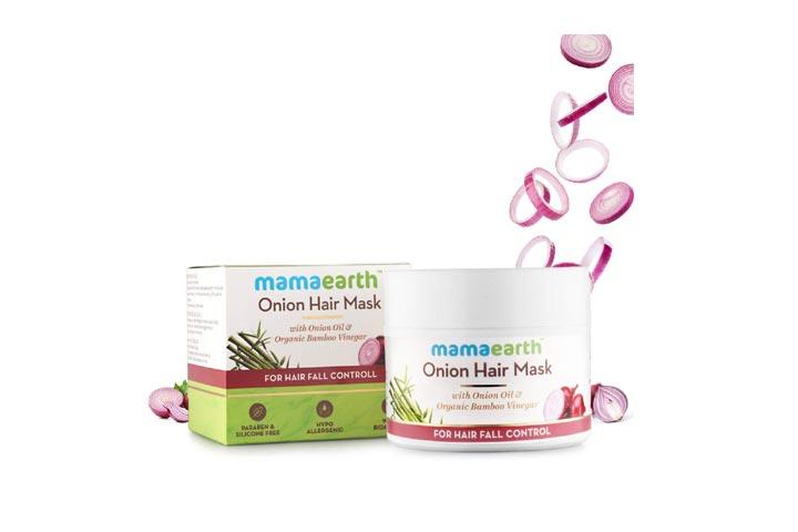 Mamaearths Onion Hair Mask