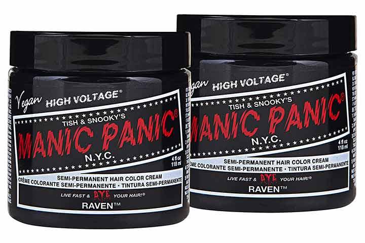 Manic Panic Raven Black Hair Dye