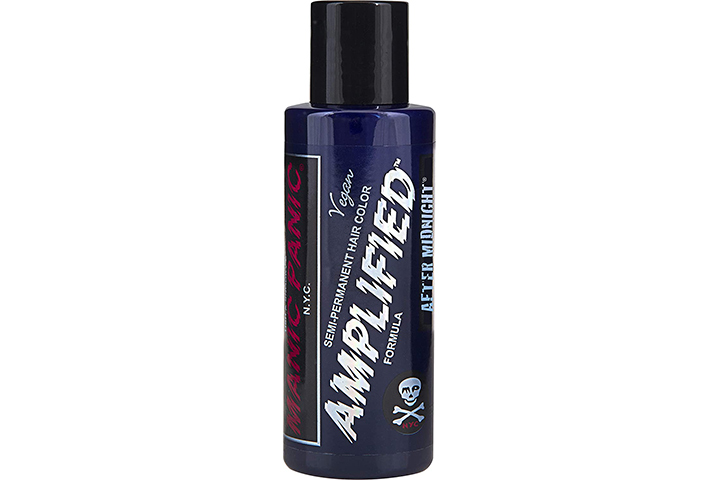 Manic Panic Rockabilly Blue Hair Color Amplified