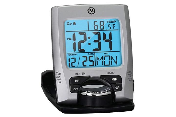 Marathon Travel Alarm Clock