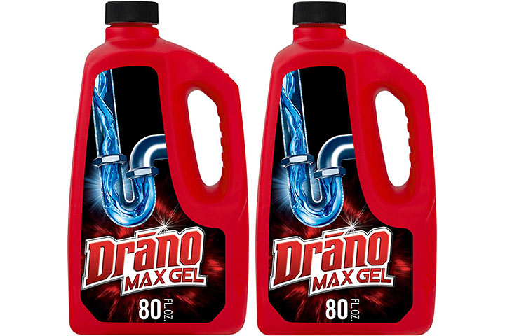 Max Gel Drain Clog Remover and Cleaner from Drano