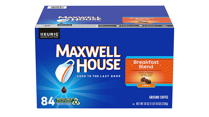 Maxwell House Breakfast Blend Light Roast