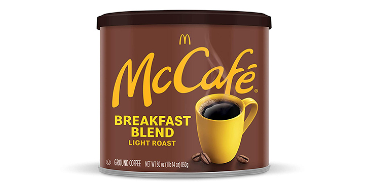 McCafe Breakfast Blend Light Roast Ground Coffee