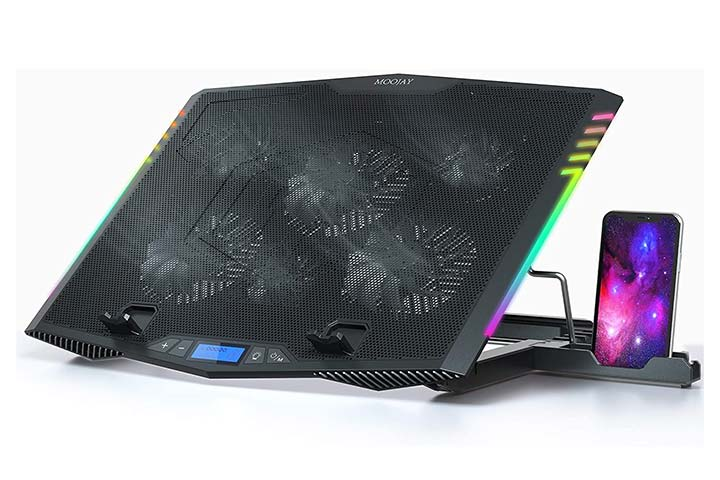 Moojay RGB Laptop Cooling Pad