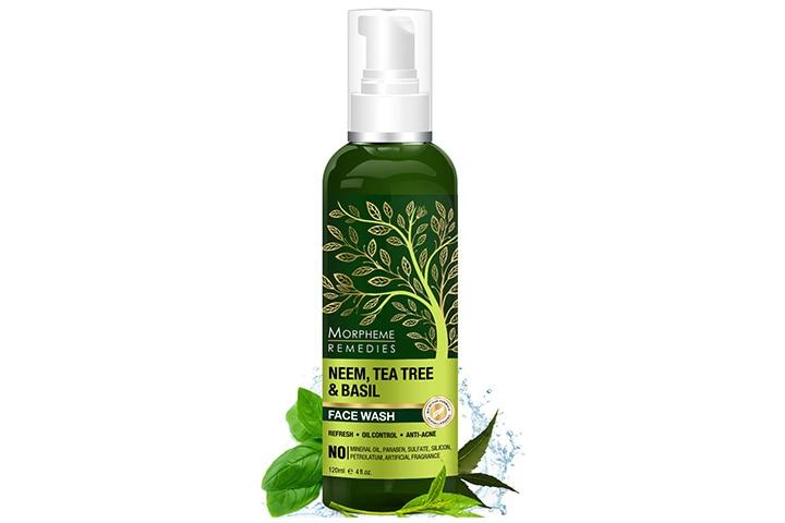Morpheme Remedies Neem, Tea Tree And Basil Facewash