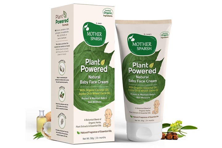 Mother Sparsh Plant Powered Natural Baby Face Cream